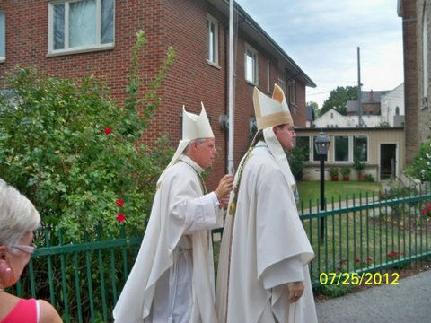 Bishop Kirkpatrick,& Bishop Bergie