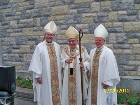 Bishop Kirkpatrick, Cardinal Collins & Bishop Bergie