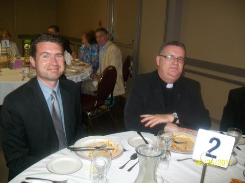 Seminarian Glen & Father Chris!