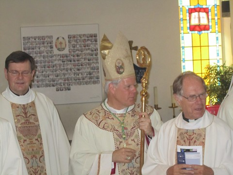 Monsignor Kirkpatrick, Bishop Bergie, Father Buis